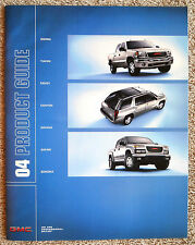 "2004 GMC PRODUCT GUIDE Full Line Brochure Sonoma ""Combined Shipping to the US"""