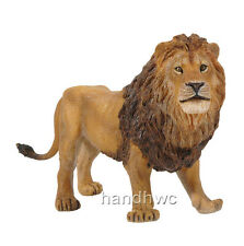 Papo 50040 Male Lion Model Wild Animal Figurine Toy Replica Gift - NIP