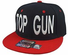 NEW TOP GUN SNAPBACK HAT ADAM DEVINE CAP BLACK/RED