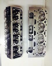 Small Block Chevy loaded  V 8  Cylinder Heads SBC 350 327  200cc  ANGLE PLUGS