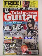 TOTAL GUITAR Magazine SEALED Ago 2008 +cd Velvet Revolver Brian Adams The Kooks