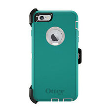 OtterBox DEFENDER iPhone 6/6s Case - Retail Packaging - SEACREST, Teal/white