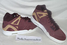 Nike Air Tech Challenge II Brogue QS SIZE 9 - 318408-602 Euro Release Burgundy 2