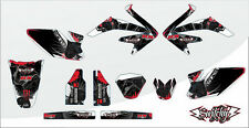 KIT ADESIVI GRAFICHE BLACK GAMBLING HM CRM 50 2009 DECALS DEKOR