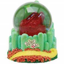 The Wizard of Oz Ruby Slippers and Emerald City 100mm Musical Water Globe, NEW