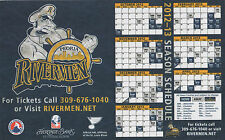 PEORIA RIVERMEN Official 2012-13 magnetic calendar St. Louis Blues AHL hockey