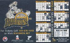 PEORIA RIVERMEN Official 2012-13 magnetic calendar St. Louis Blues AHL hockey