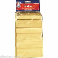 Econo Bag Balsa Wood Board Arts Crafts Hobby Carving Modeling Project 19