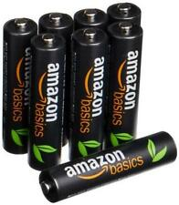 Amazon Basic High Capacity Rechargeable nickel-metal hydride battery AAA 8 Pack
