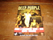 DEEP PURPLE CONCERT!!!!!!!!!!RARE FRENCH FYER 2009!!!!!