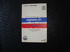 Birmingham v Barcelona Fairs Cup final 1st Leg Mar 1960