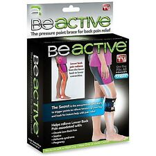 As Seen On TV BeActive Therapeutic Brace-relieve lower back pain and sciatica...