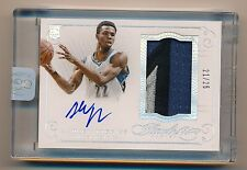 2014-15 Flawless * ANDREW WIGGINS * Jumbo Game Worn Patch Autograph RPA * #21/25