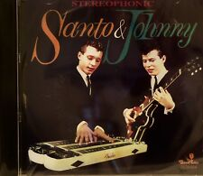 SANTO & JOHNNY - Stereophonic - 31 Cuts on Black Tulip