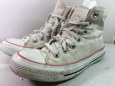 AW7 CONVERSE Cream & Pink ALL STAR BOOTS SIZE 5