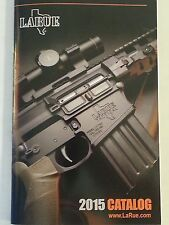 LaRue Tactical 2015 Firearms and Accessories Catalog Booklet NEW