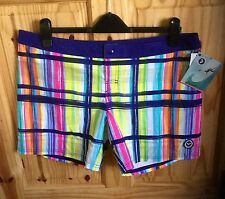 STUNNING WOMAN'S MULTICOLORED ROXY SHORTS UK SIZE: 18  EUR:44. (RRP: £50)