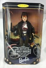 NIB Collector Edition Harley Davidson Barbie Doll Second In Series 20441