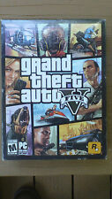Grand Theft Auto V PC Game Brand NEW! (PC: Windows) includes GTA 5 & GTA online!