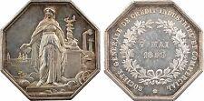 Crédit Industriel et Commercial, jeton par Delongueil, 1859, SPL - 25
