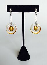 Antica Murrina Alisa--Handmade Murano Glass Drop Earrings