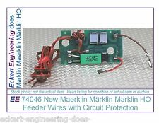 EE 74046 New Maerklin Märklin Marklin HO Feeder Wires with Circuit Protection