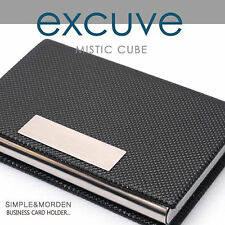 [excuve] G1 PERSONALIZED BUSINESS CARD HOLDER AMPLE STORAGE SPACE-FREE ENGRAVING