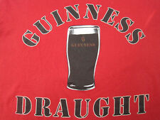 SOFT!! 80s vintage GUINNESS DRAUGHT draft BEER T SHIRT large