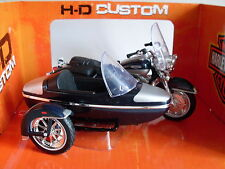 Harley Davidson Modèle, 2001 Road King Side-car, Maisto Moto 1:18