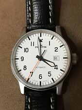 Fortis Flieger 40mm Automatic Pilot's Watch - White Dial - 595.10.46.1