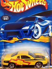 HOT WHEELS 2001 COMPANY CARS SERIES CHEVY MONTE CARLO CONCEPT Yellow
