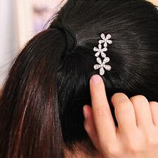 New Flower Hairpin Rhinestone Hair Plum Clip Hair Accessories Decor Hairpin