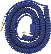 VOX VCC Vintage Coiled Cable Blue for Electric Guitar F/S