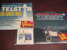 THE VENTURES RARE LIMITED EDITION TELESTAR & IN SPACE DOLTON CD + 180 GRAM LPS
