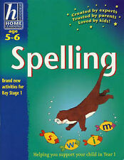 Spelling: Age 5-6 (Hodder Home Learning: Age 5-6), By Whiteford, Rhona,in Used b