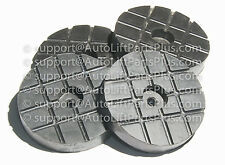 Round Rubber Arm Pads for Globe Lift & Ford Smith Lift -  Set of 4