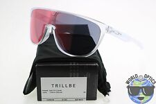 Oakley Trillbe Sunglasses OO9318-03 Matte Clear | Torch Iridium Sale Sample