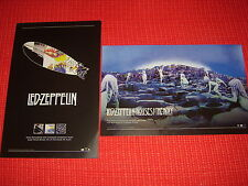 "LED ZEPPLIN - Set of 2 11"" x 17"" promo card displays NEW/UNUSED!"