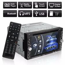 "Double 2Din 6.2"" Car Stereo DVD/CD/MP3 Player In Dash Bluetooth Ipod TV Radio DH"
