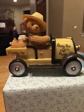 CHERISHED TEDDIES I'm Busy As A Bee ENESCO Yellow Honey Truck Bert 790192