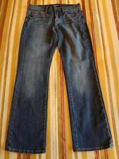 LUCKY BRAND JEANS ~ Womens EASY RIDER MID RISE BOOT DENIM PANTS sz 6/28R ~ GREAT