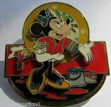 Disney Cruise Pin Event Sprucing Up The Ship Captain's Mate Minnie Mouse Pin