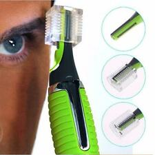 NEW Precision Facial Hair Trimmer Shaver for Nose Ear Eyebrows with LED Light SS