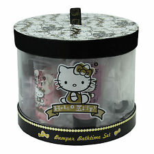Hello Kitty Bath Gift Set Bumper Ladies Girls Luxury Pamper Toiletries 5 Pieces