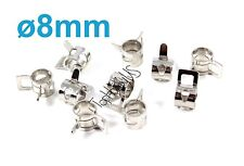 20pcs 8mm Metal Fuel Line Tube Clips Clamps, US TH005-02306