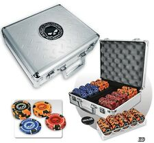 Harley Davidson 300 Piece Skull Poker Chip Set