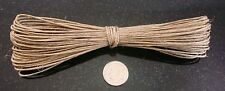 Hemp beading cord 45' natural .5-1mm create necklaces woven lace 13.71mtrs m112