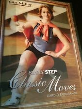 Gin Miller Simply Step Classic Moves Cardio Endurance (DVD) FREE SHIPPING