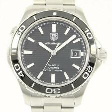 Authentic Tag Heuer WAK2110. BA0830 Aquaracer 500M Caliber 5  #260-001-611-4777
