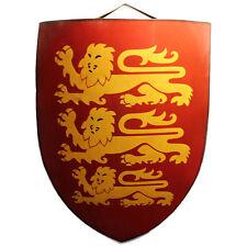 Medieval Royal Crusader Richard the Lion Heart Shield